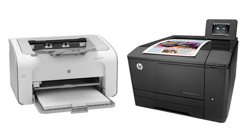 drukarki laserowe HP
